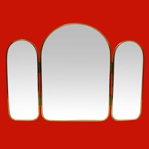 Foto 38 - Espejo Tríptico  64x45,5cm, sin Luz, sin Repisa de