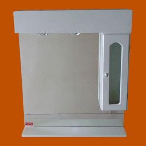 Foto 8016 - Botiquín Rectangular con Repisa, 1 Módulo lateral derecho, con Luz, Puerta con vidrio, Capilla de