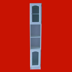 Foto 8403 - Mueble de 1,80mts de altura, 1 Estante, 2 Puertas con vidrio, Capilla de