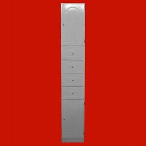 Foto 8402 - Mueble de 1,80mts de altura, 2 Puertas, 4 Cajones de
